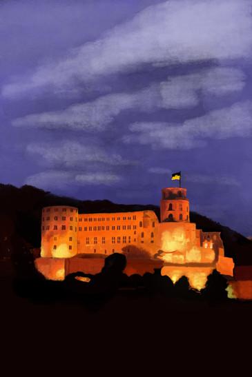 Das Heidelberger Schloss von Alexa S.