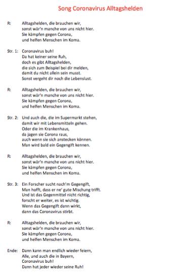 """""""Coronavirus-Song"""" von Finn B."""