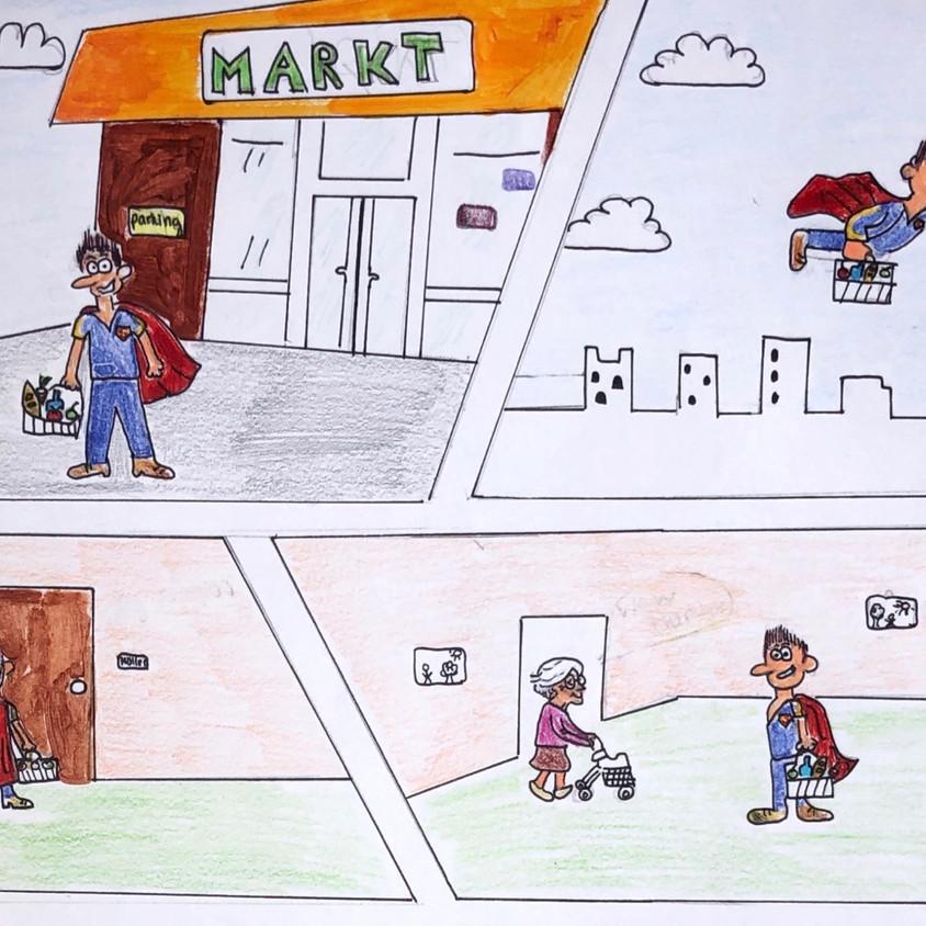 """""""Nachbarschaftshelfer"""" von Johanna W. M."""