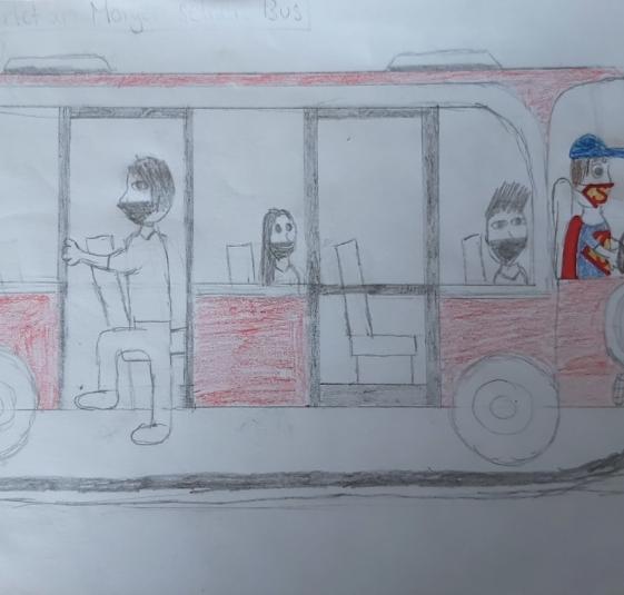 """""""Busfahrer"""" von Emma U."""