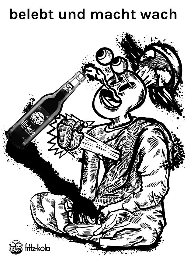 Martin Pawlusiak Design Illustration halbhand firtz-kola 3