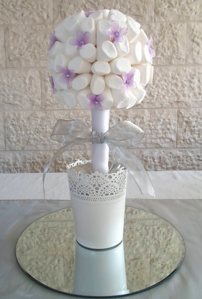 Endless Elegance Calla Lily and Lilacs Bouquet