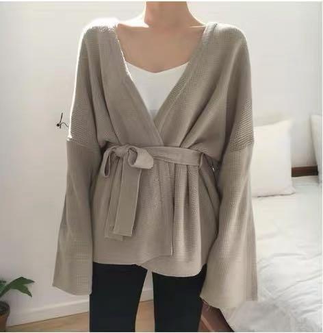 韓國針織外套-B