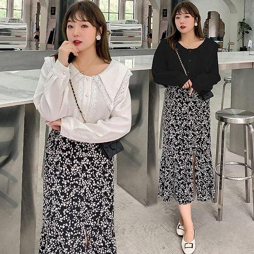 韓國秋季plus size恤衫