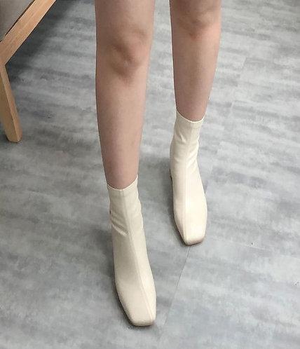 超貼腳軟皮短boot(正常版)-D