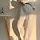 Thumbnail: 高腰垂直直筒西裝褲-D(加絨版)
