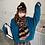 Thumbnail: 韓國加厚斑馬紋頸巾-D