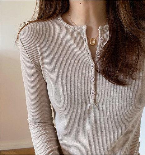 韓國超顯瘦針織衫