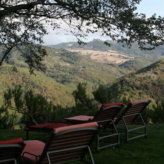 The scenic grounds of Locanda