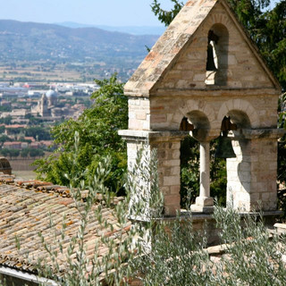 Bell tower in Assisi