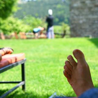 Relaxing at Locanda