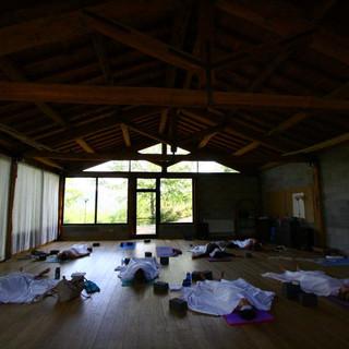 Restorative Yoga in the Studio