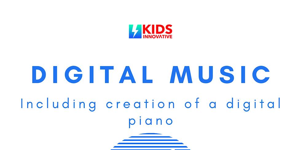 Digital Music Summer Camp (Full Days)