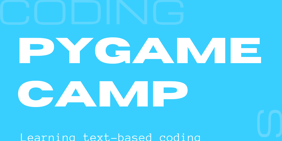 Pygame Summer Camp