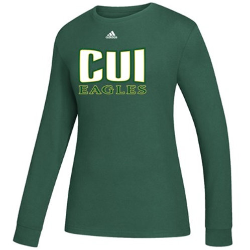 CUI Eagles Women's L/S Pregame Shirt