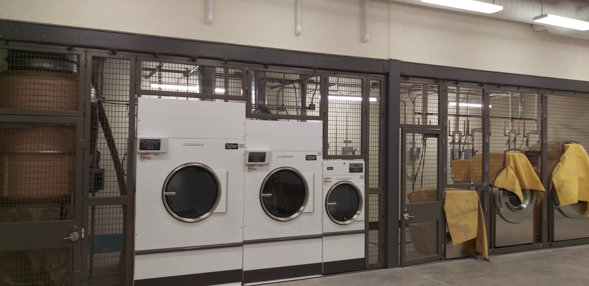 Laundry Equipment Cage