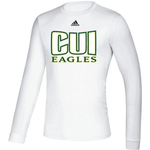 CUI Eagles Men's L/S Pregame Shirt
