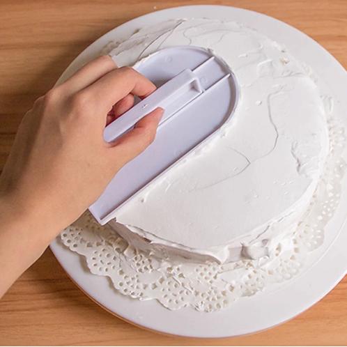 Cake Smoother Plastic Fondant Icing Fondant Polisher Cake Decorating Smooth