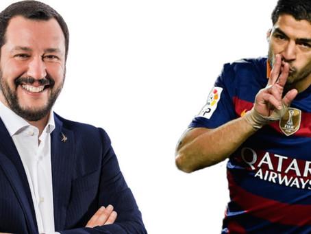 Suarez-Juve: come mai non si è potuto fare niente e cosa c'entra in tutto questo Matteo Salvini