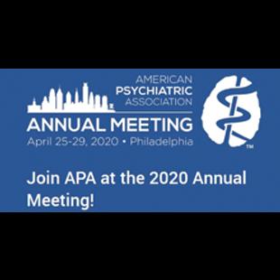 American Psychiatric Association 2020 Annual Meeting (rescheduled virtual)