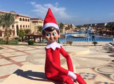 Elf at Mamlouk Palace, Hurghada