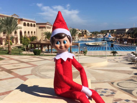 Elf at Mamlouk Palace, Hurghada