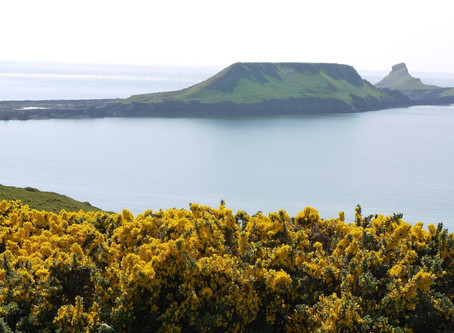 Rhossili and Worms Head