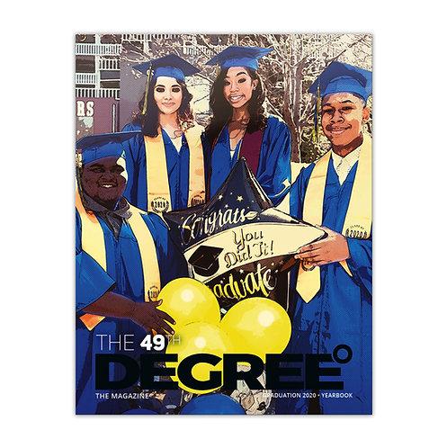 The49th degree | Graduation book 2020