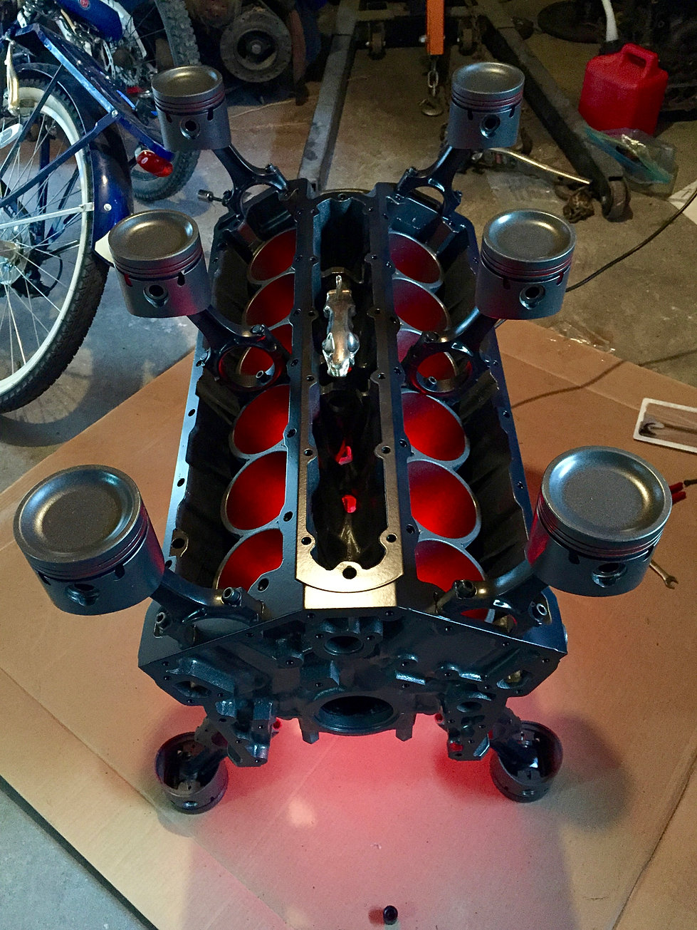 engine block tables