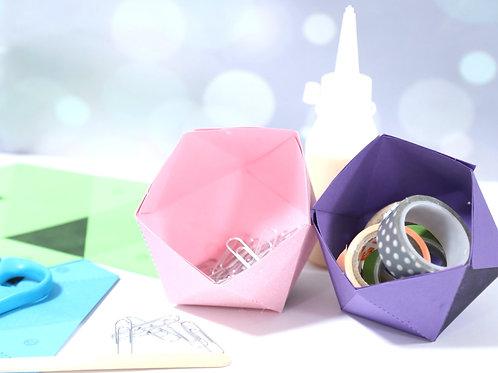 DIY BOX - כלים גאומטריים מנייר