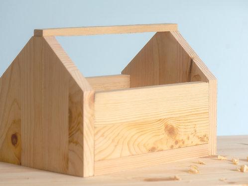 ארגז כלים מעץ