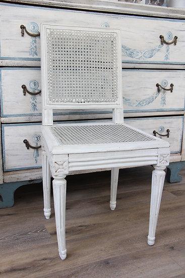 Chaise cannée XVIIIe