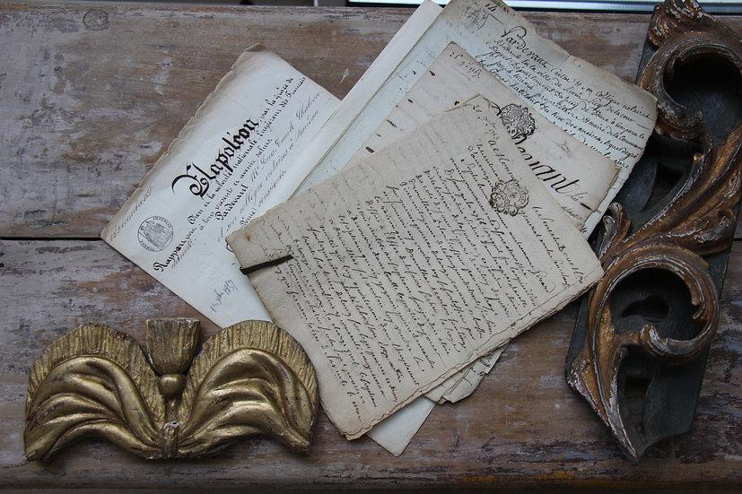 Manuscrits XVIIIe et XIXe