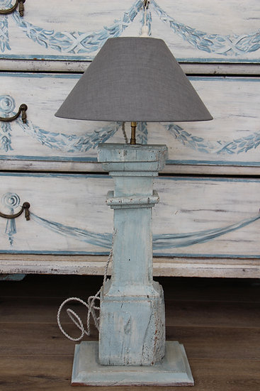 Lampe balustre XVIIIe