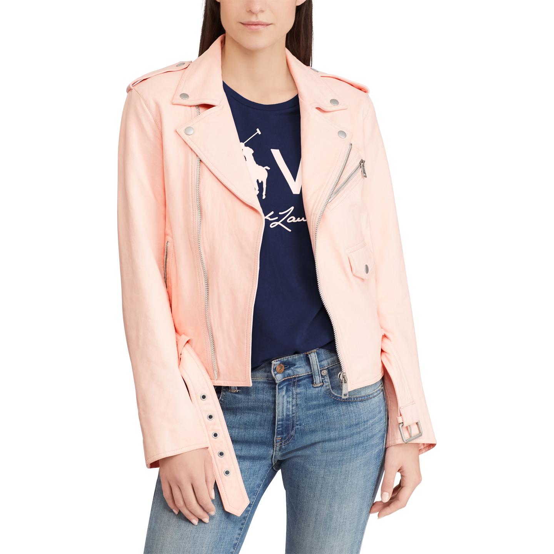 Ralph Lauren | Pink Pony Moto Jacket