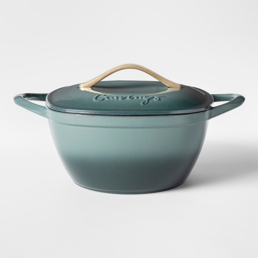 Target | Cravings by Chrissy Teigen 5qt Cast Iron Enameled Dutch Oven with Lid