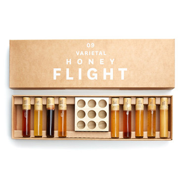 Bee Raw | 9 Varietal Honey Flight