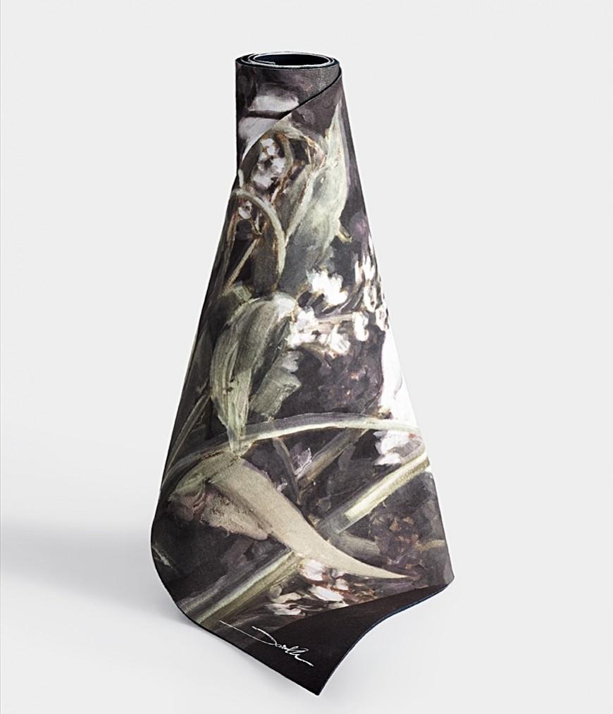 Manduka | project:om equa® hot yoga mat - all the flowers by david allen
