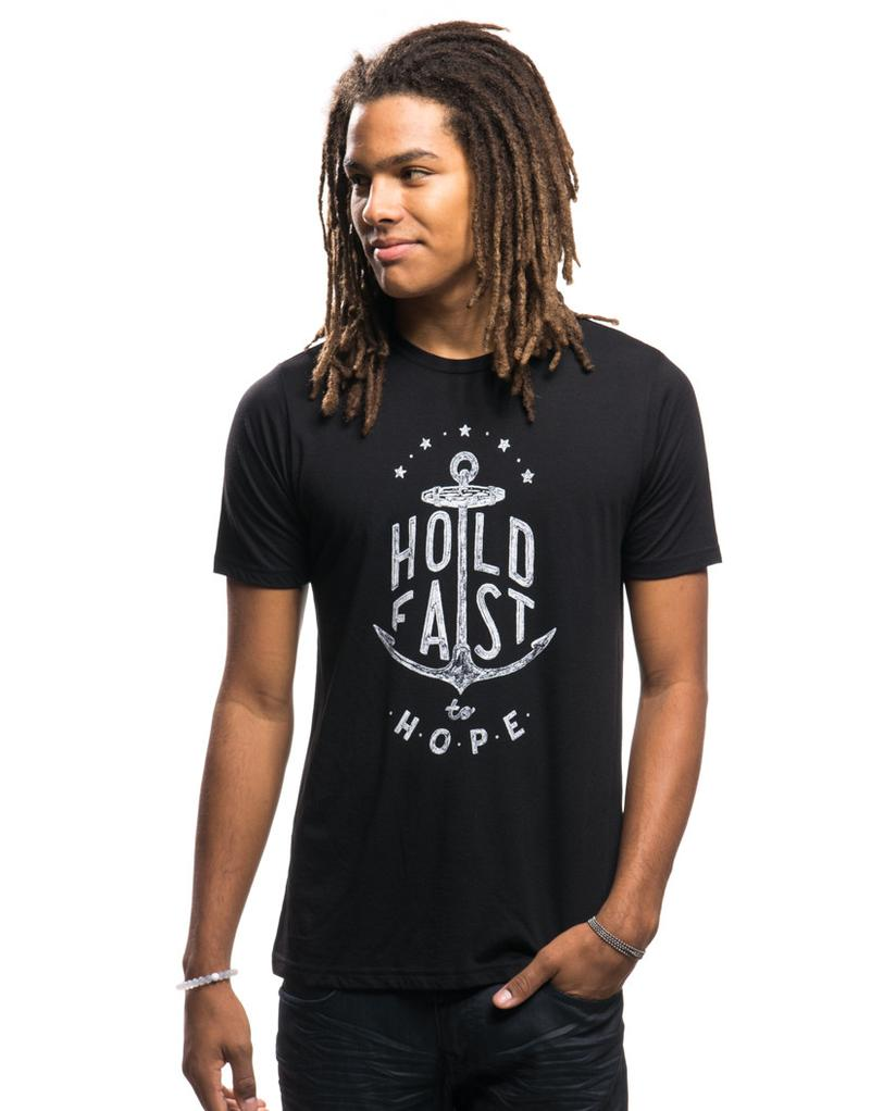 Sevenly - HOLD FAST Mens Black Premium Tee
