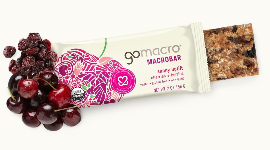 GoMacro MacroBar | Sunny Uplift Cherries + Berries