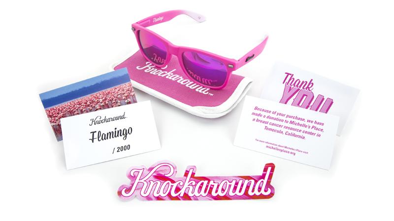 Knockaround | Flamingo Fort Knocks Sunglasses