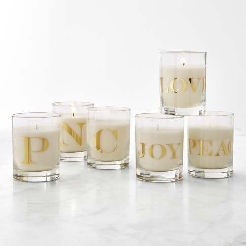 Williams Sonoma | Monogram Candle