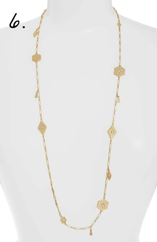 Nordstrom | Treasure & Bond Crystal Plate Station Necklace