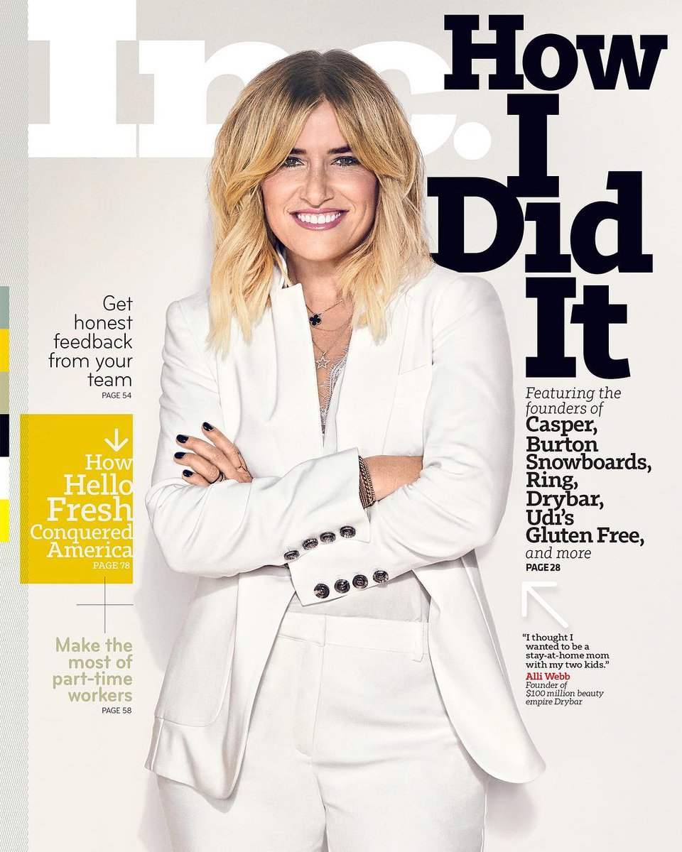 Alli Webb/Drybar | Inc. Cover