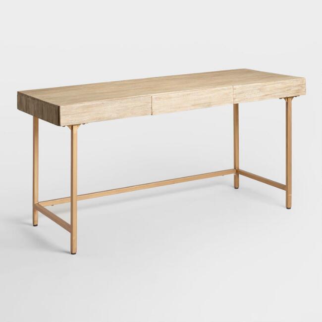 World Market | Driftwood Cristela Desk