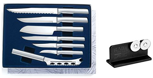 Amazon | Rada Cutlery Starter Knife Gift Box Plus Knife Sharpener