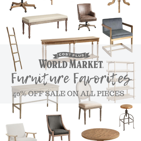 World Market Favorites | 40% OFF ALL Furniture Sale