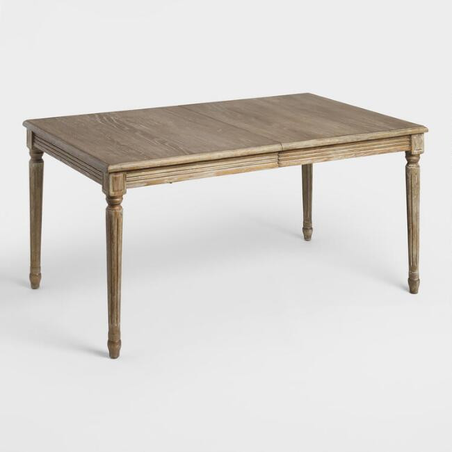 World Market | Wood Paige Extension Dining Table