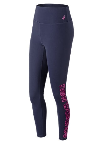 New Balance | Thrive Breast Cancer Awareness Collection - Pink Ribbon High Rise Printed Tight