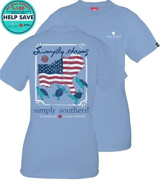 Simply Southern Hurricane Michael Relief Shirt
